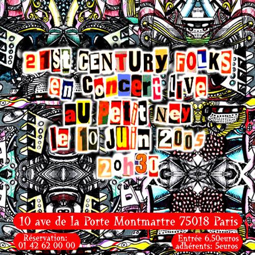 21st Century Folks au Petit Ney - flyer
